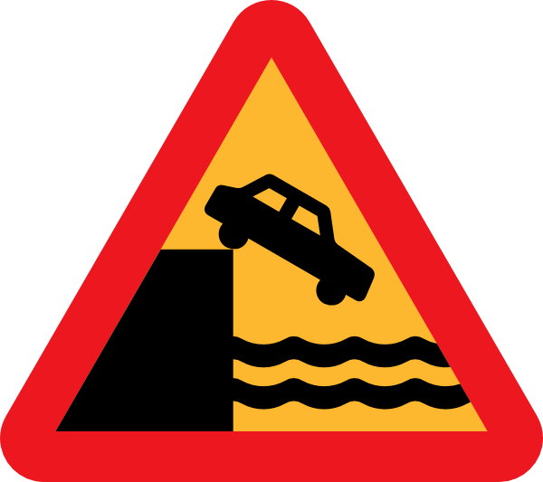 Driving clipart svg. Caution dont drive over