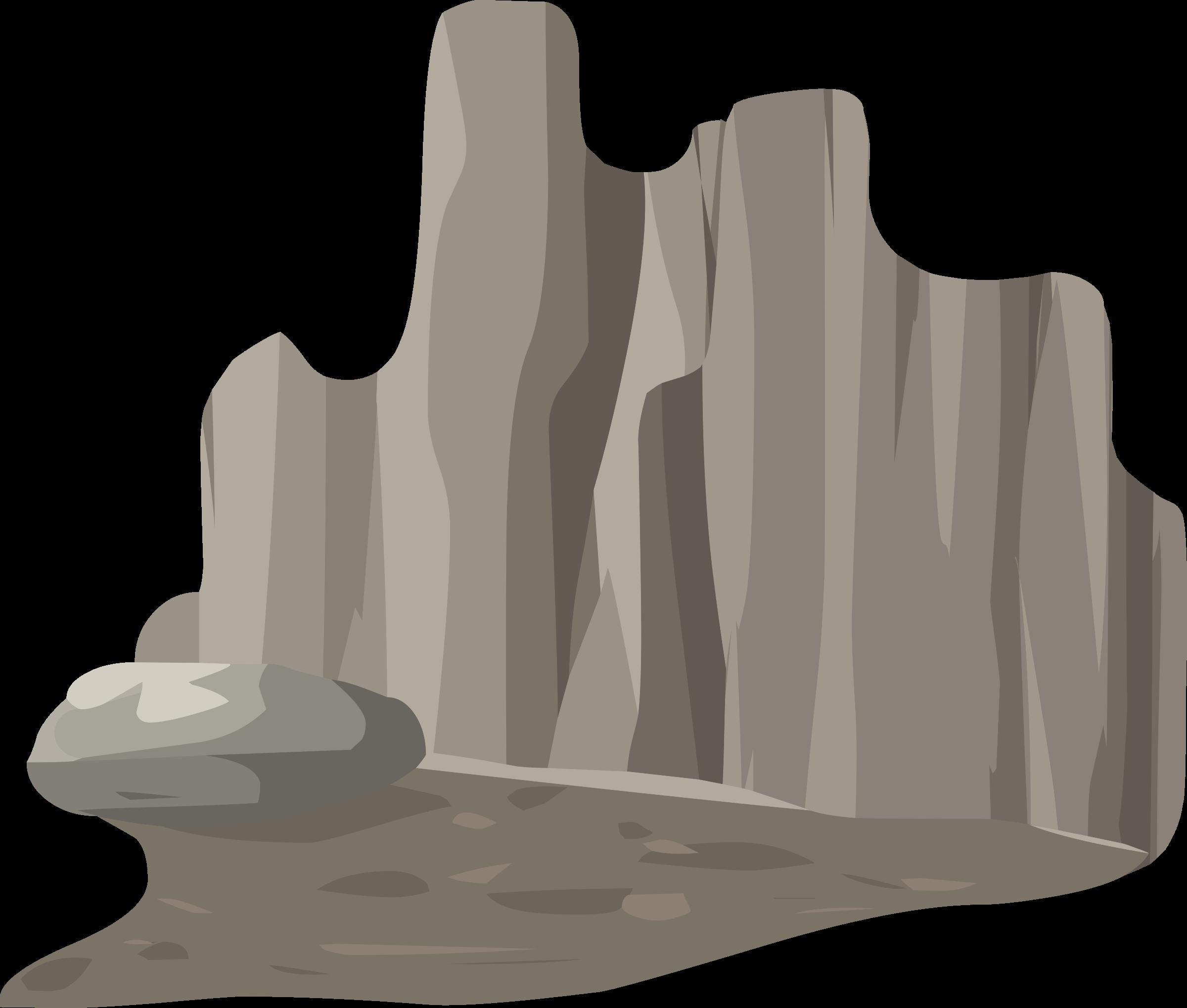 Clipart rock rock cliff. Alpine landscape face roof