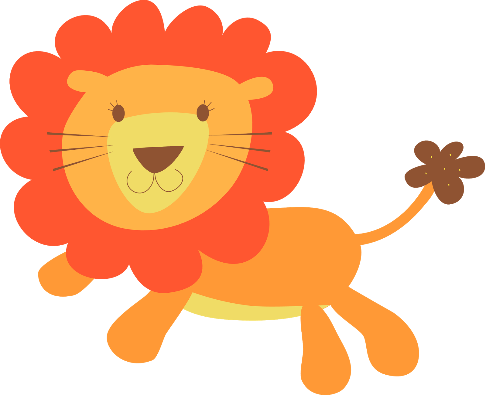 Cute clipart march. Lion and lamb at