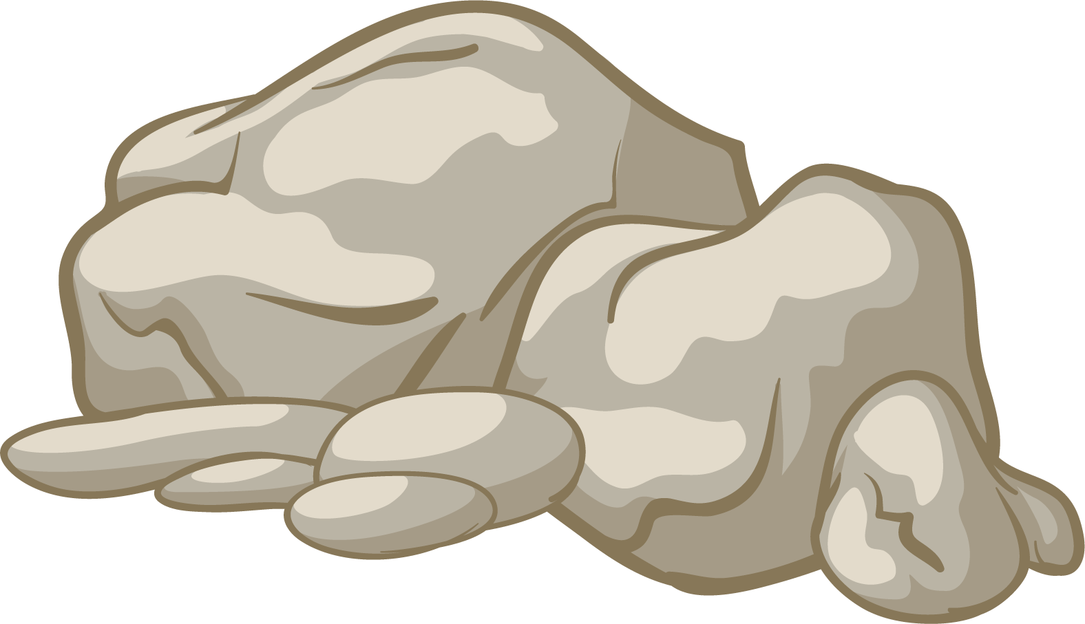 cliff huge freebie. Clipart grass rock