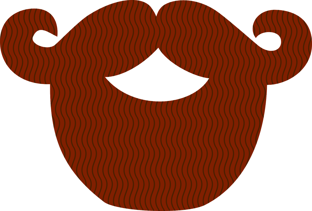 News and features ireland. Moustache clipart brown