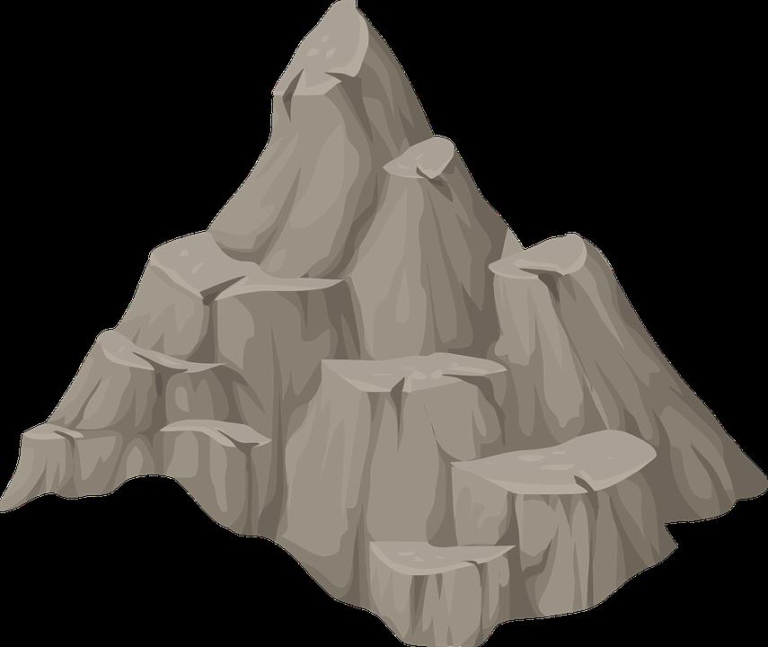 Mountain clipart mountain peak. Leaf load mapl natur