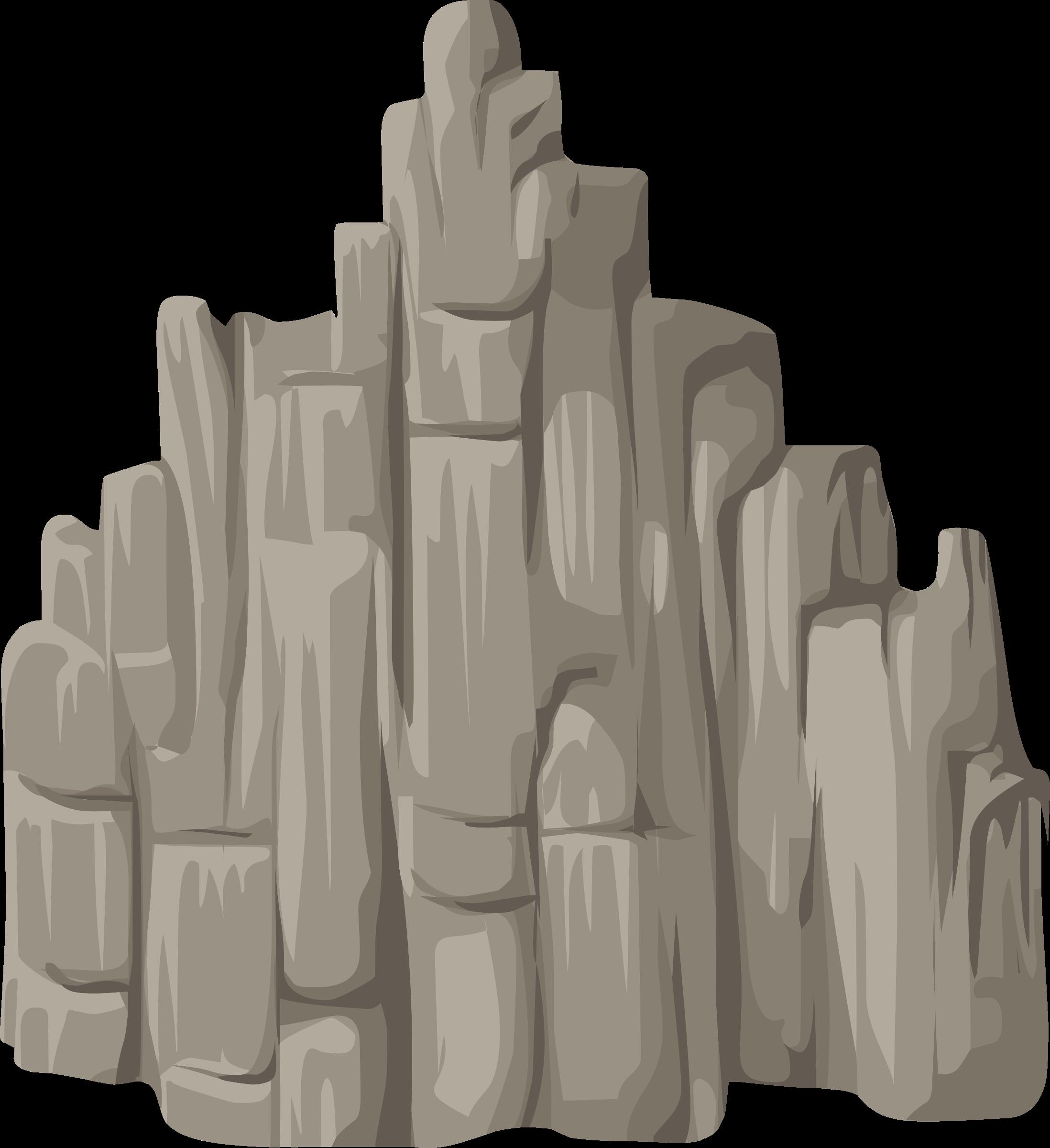 Clipart rock rock cliff. Alpine landscape face mountaineering
