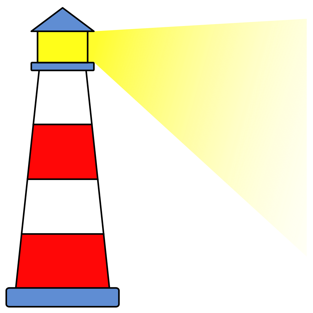 collection of lighthouse. Houses clipart cow