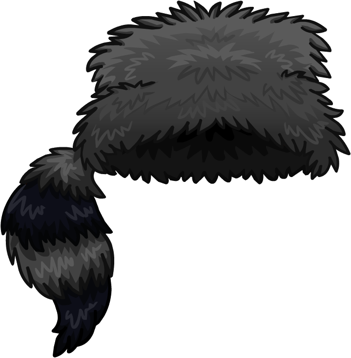 Wilderness expedition club penguin. Racoon clipart hat