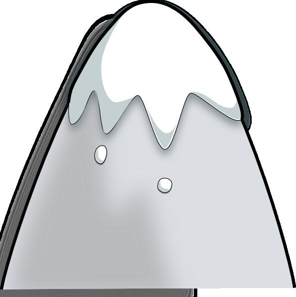 Kliponius mountain in a. Clipart mountains cartoon