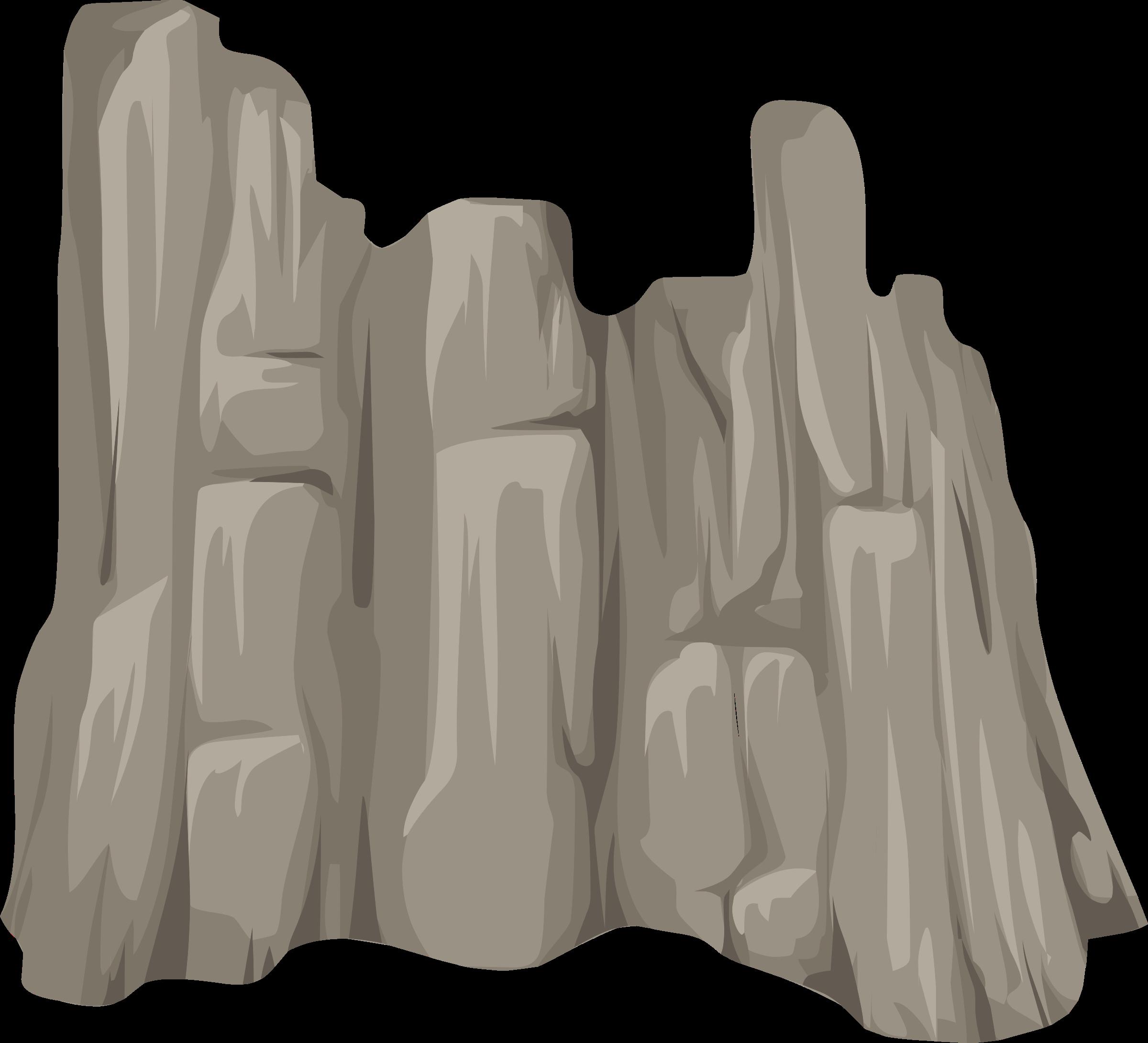 Rock clipart face. Alpine landscape cliff skirt