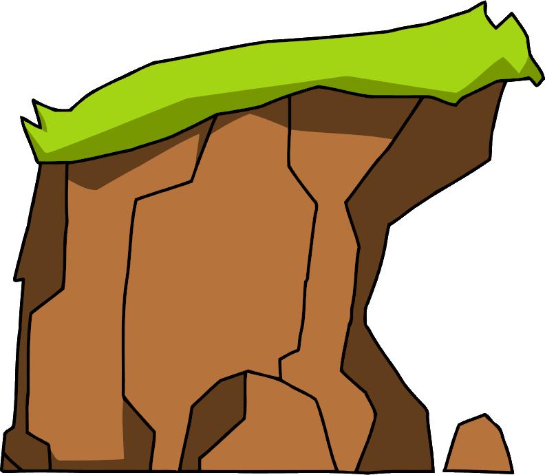 Scribblenauts wiki fandom powered. Clipart rock rock cliff