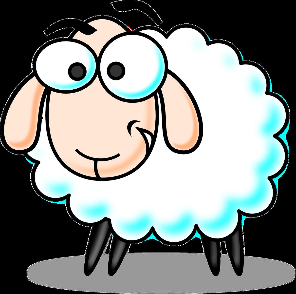 sheep clipart old sheep #142399895