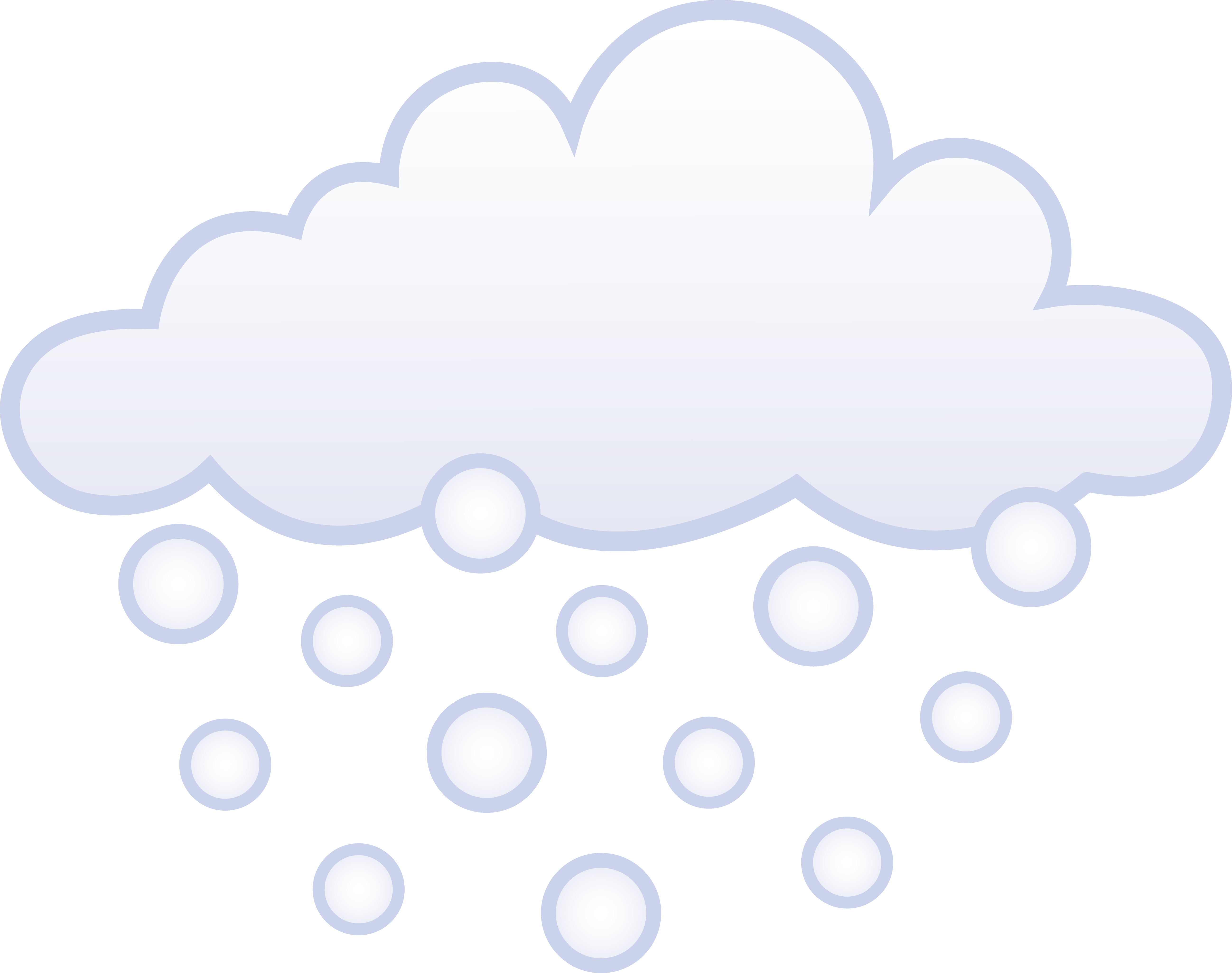Clipart clouds snowing.  collection of snowfall