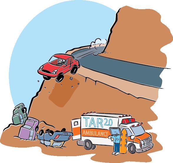 Cliff clipart steep cliff. The great tar debate