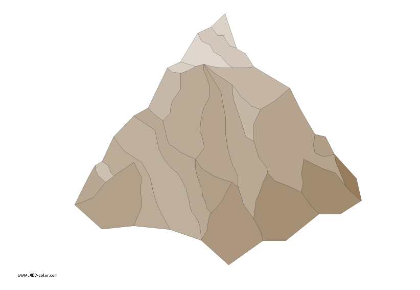 Clipart mountain bitmap. Raster cliff