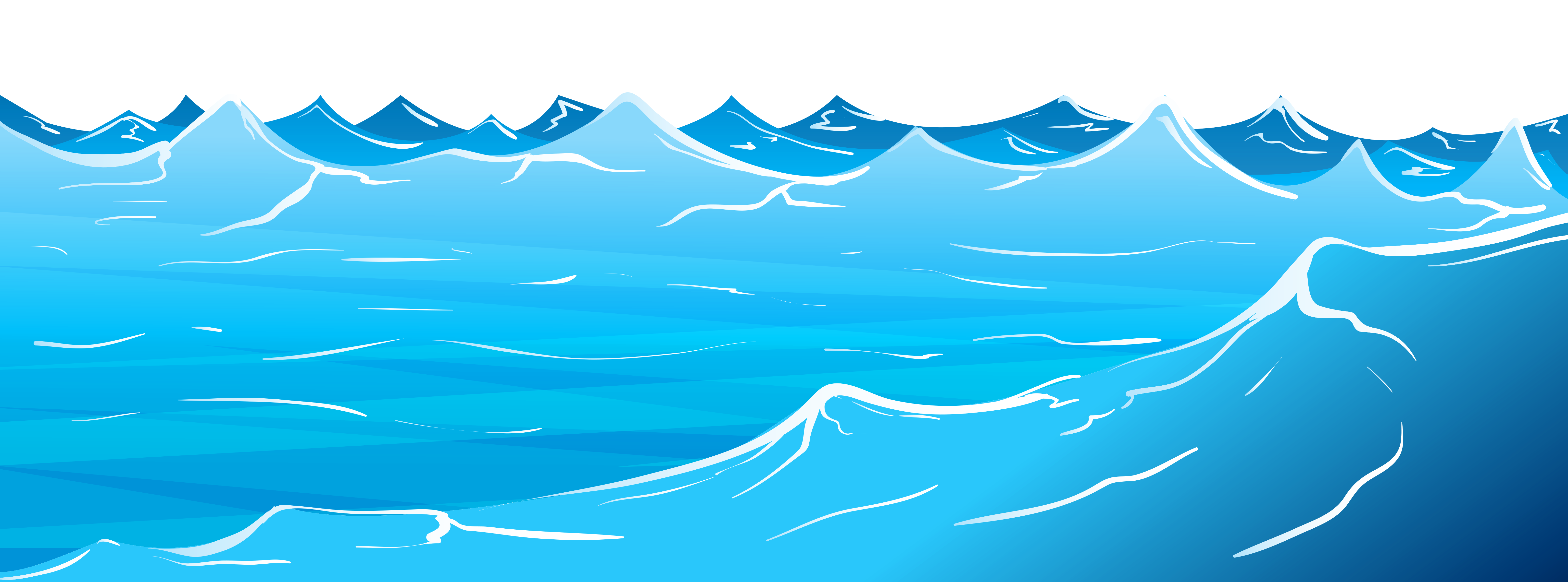 collection of sea. Water clipart sky