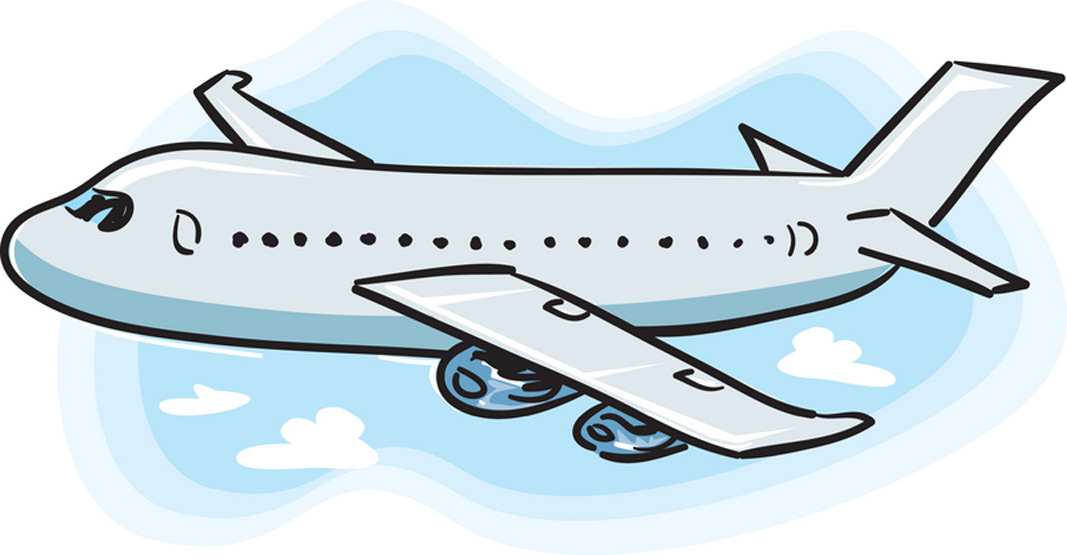 Plane clipart flight. Airplane no background panda