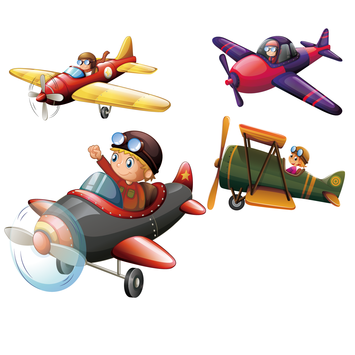 Pilot clipart helicopter pilot. Airplane aircraft flight illustration