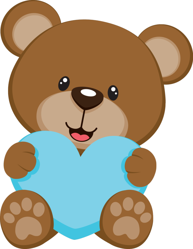 Baby shower bear pesquisa. Showering clipart winter
