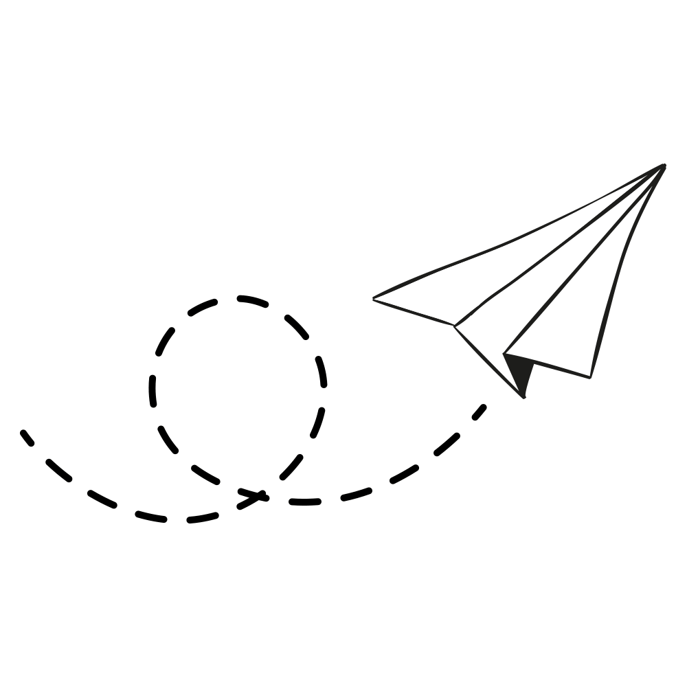 White plane png image. Paper clipart line paper