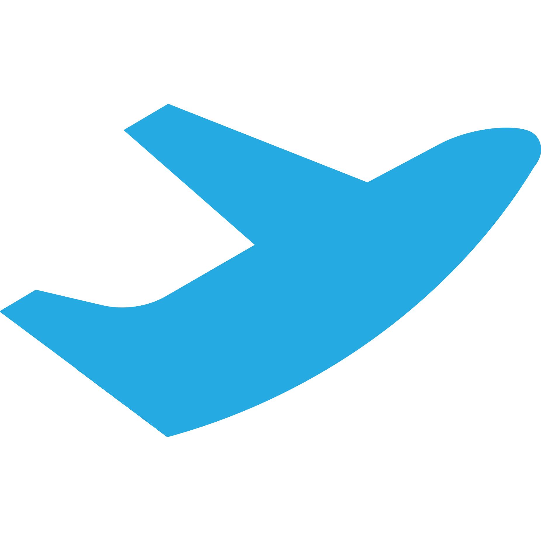 clipart plane logo