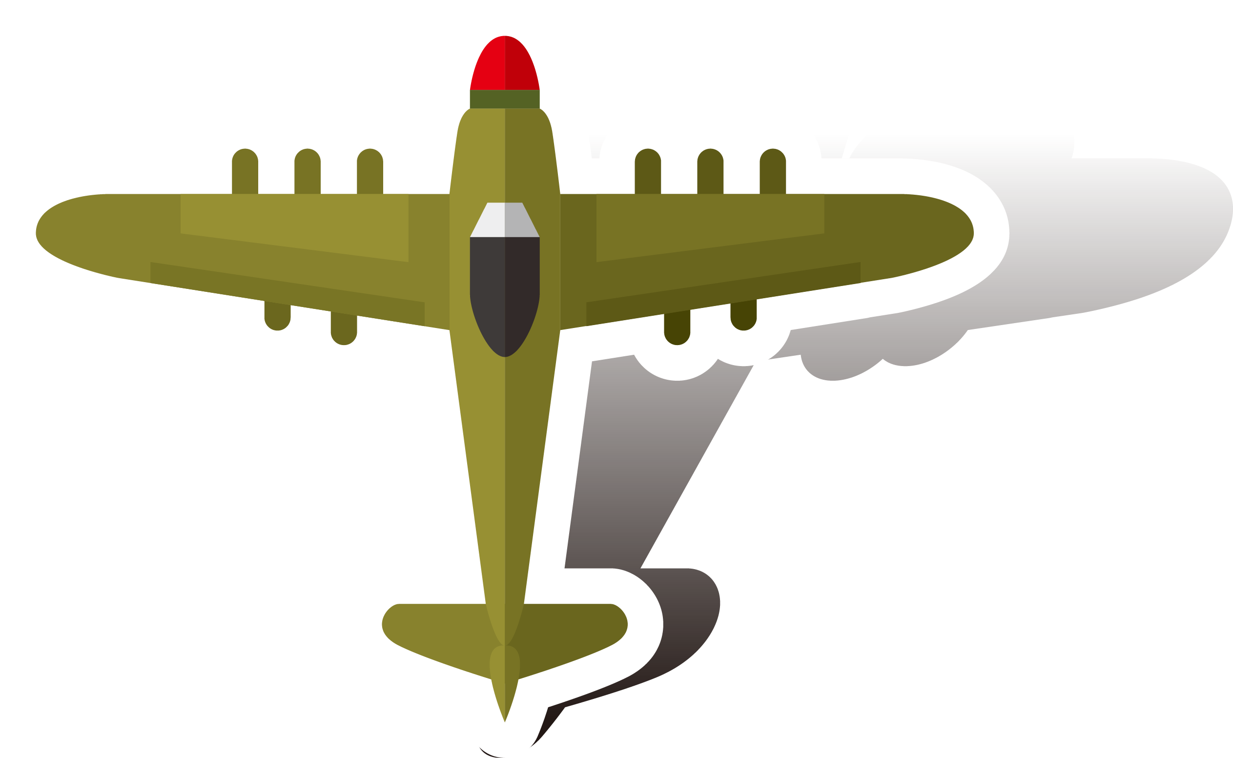 Airplane bomber second world. Pilot clipart aircraft engineer