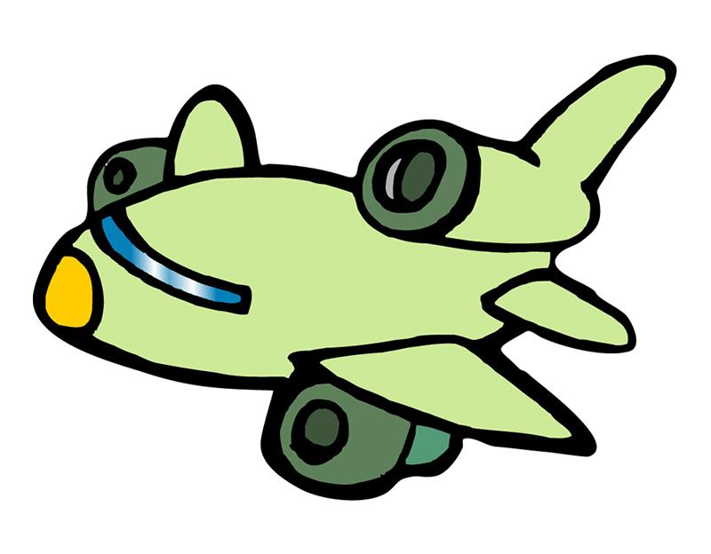 Airplane cartoon drawing at. Clipart plane futuristic