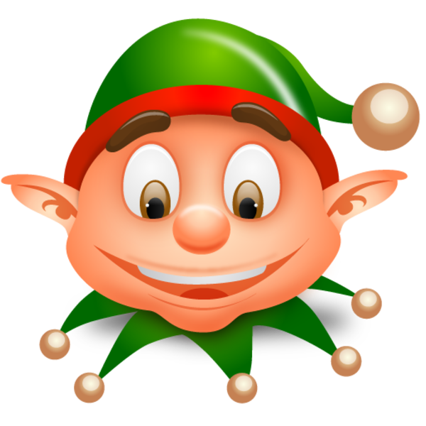 Christmas girl at getdrawings. Stamp clipart elf