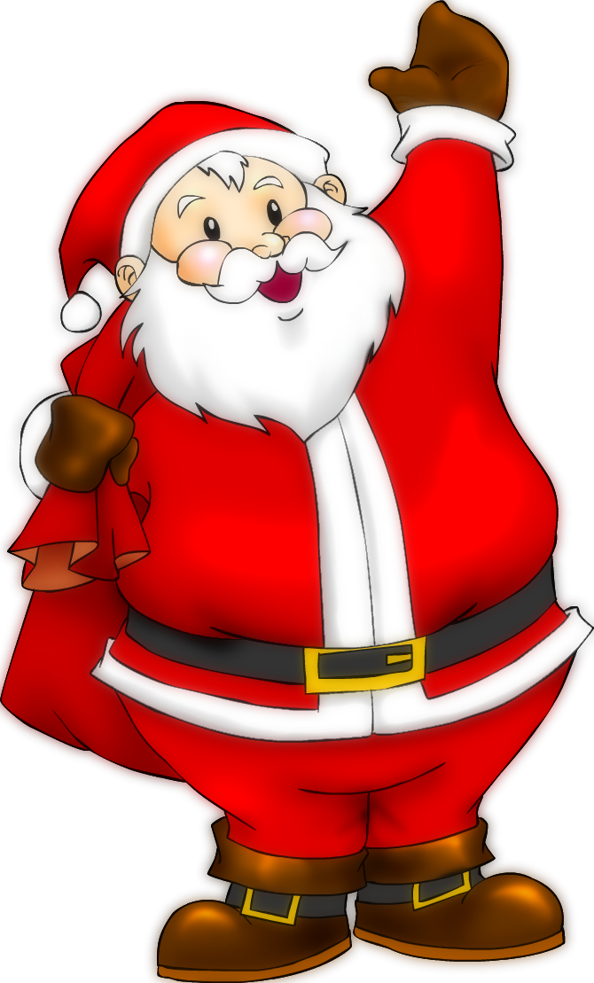 Santa claus by rippler. Clipart key christmas
