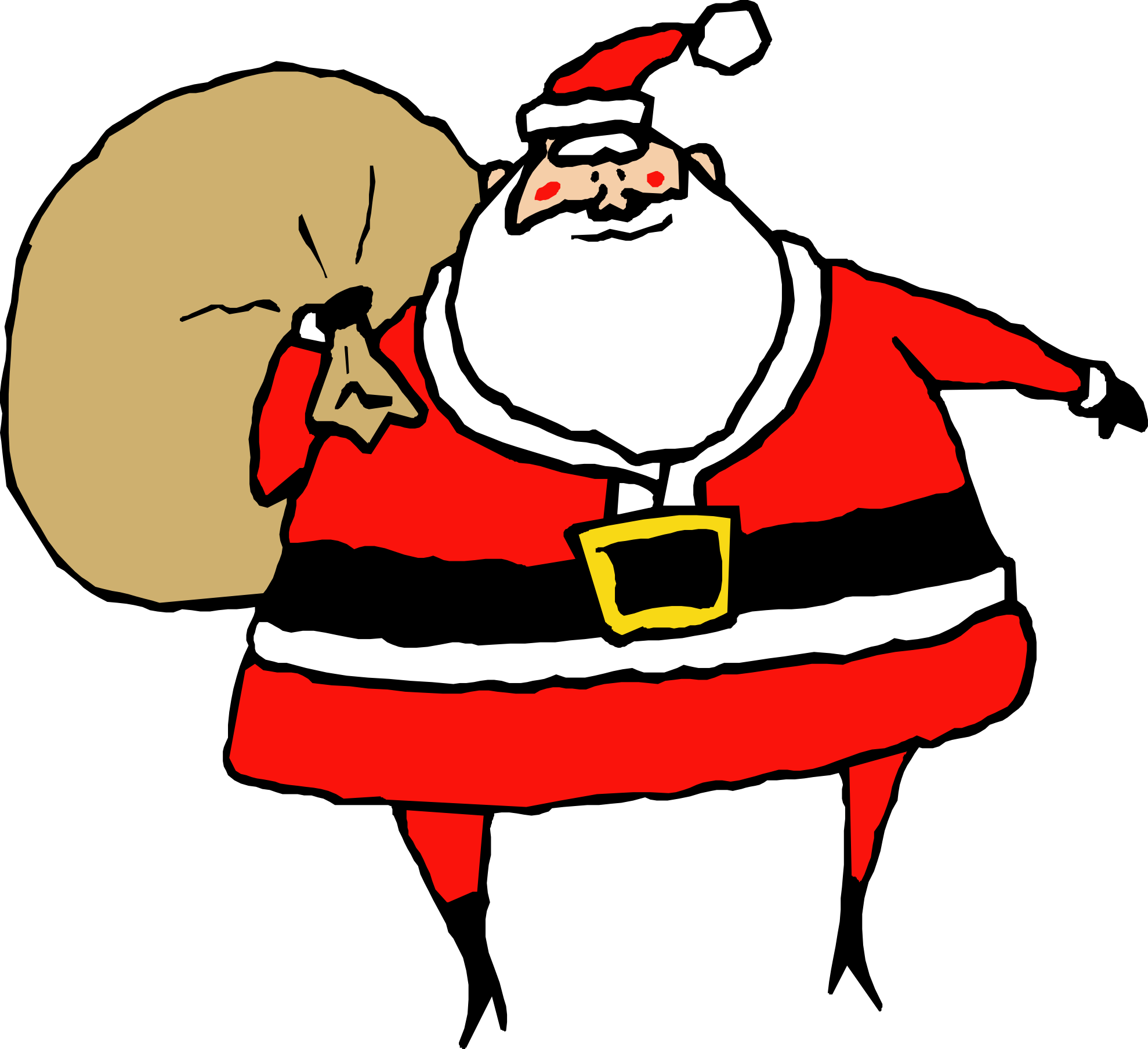 Sleigh clipart santa s. Cute claus at getdrawings