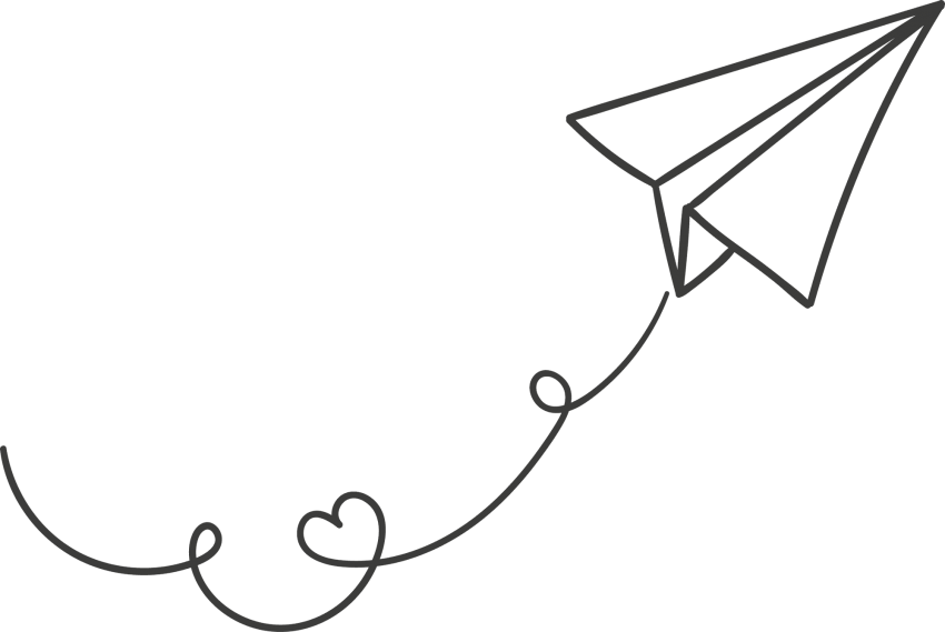 Clipart plane transparent background. White paper png free