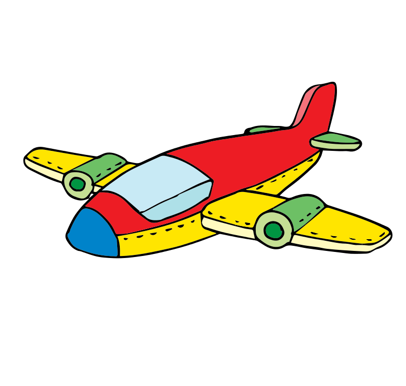Clipart plane tourist. Air transportation at getdrawings