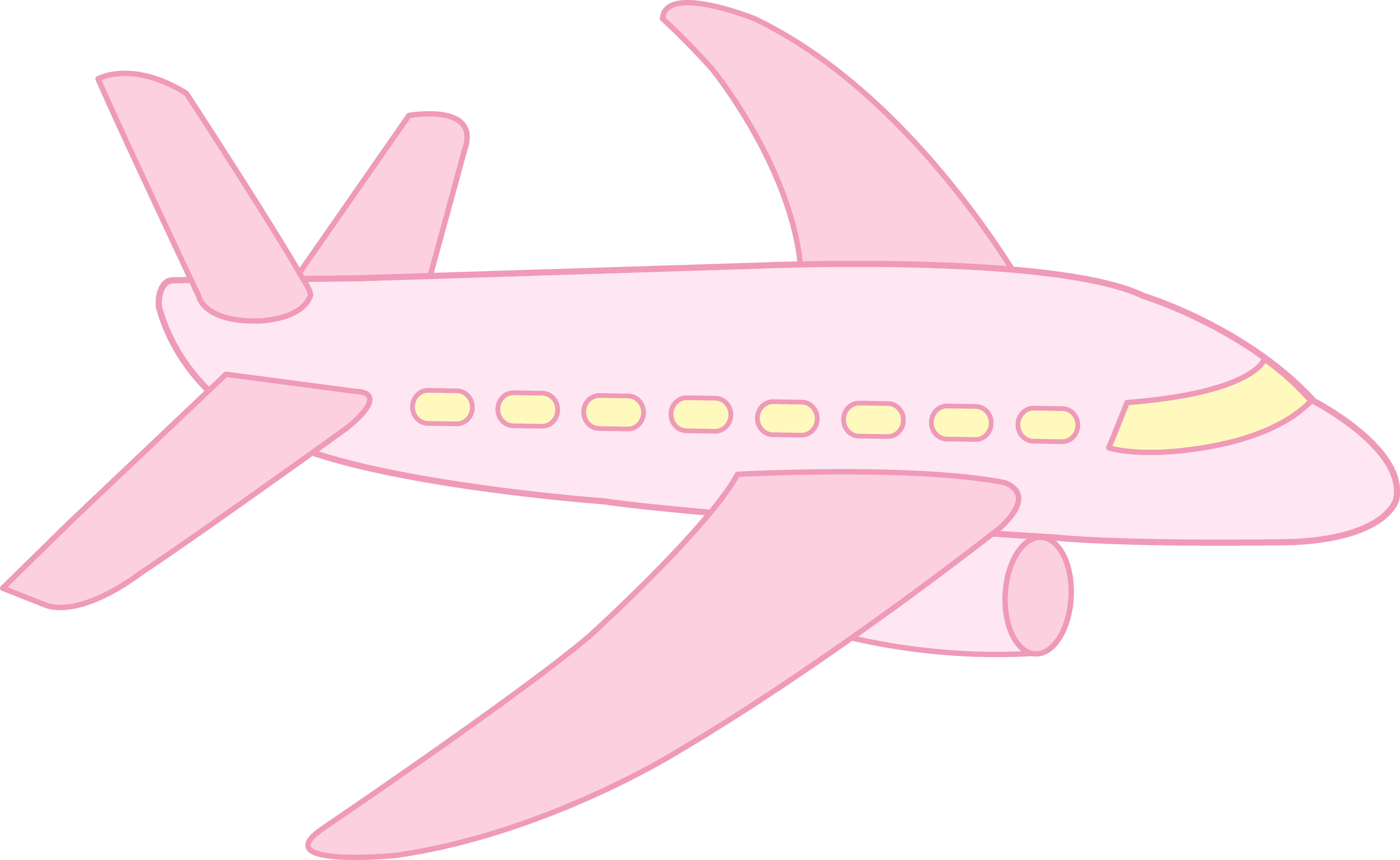 Wildcat clipart cute. Pink airplane free clip