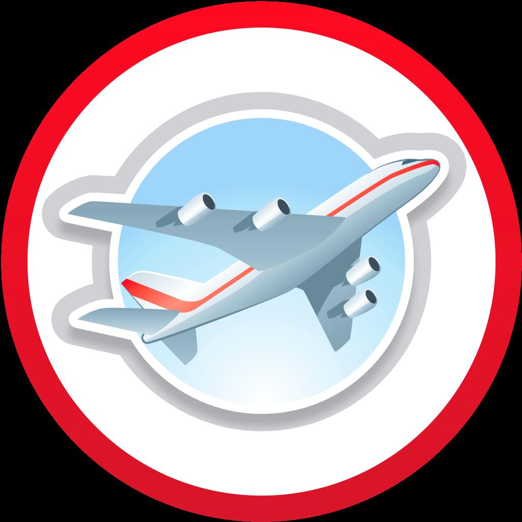 Airplane destination
