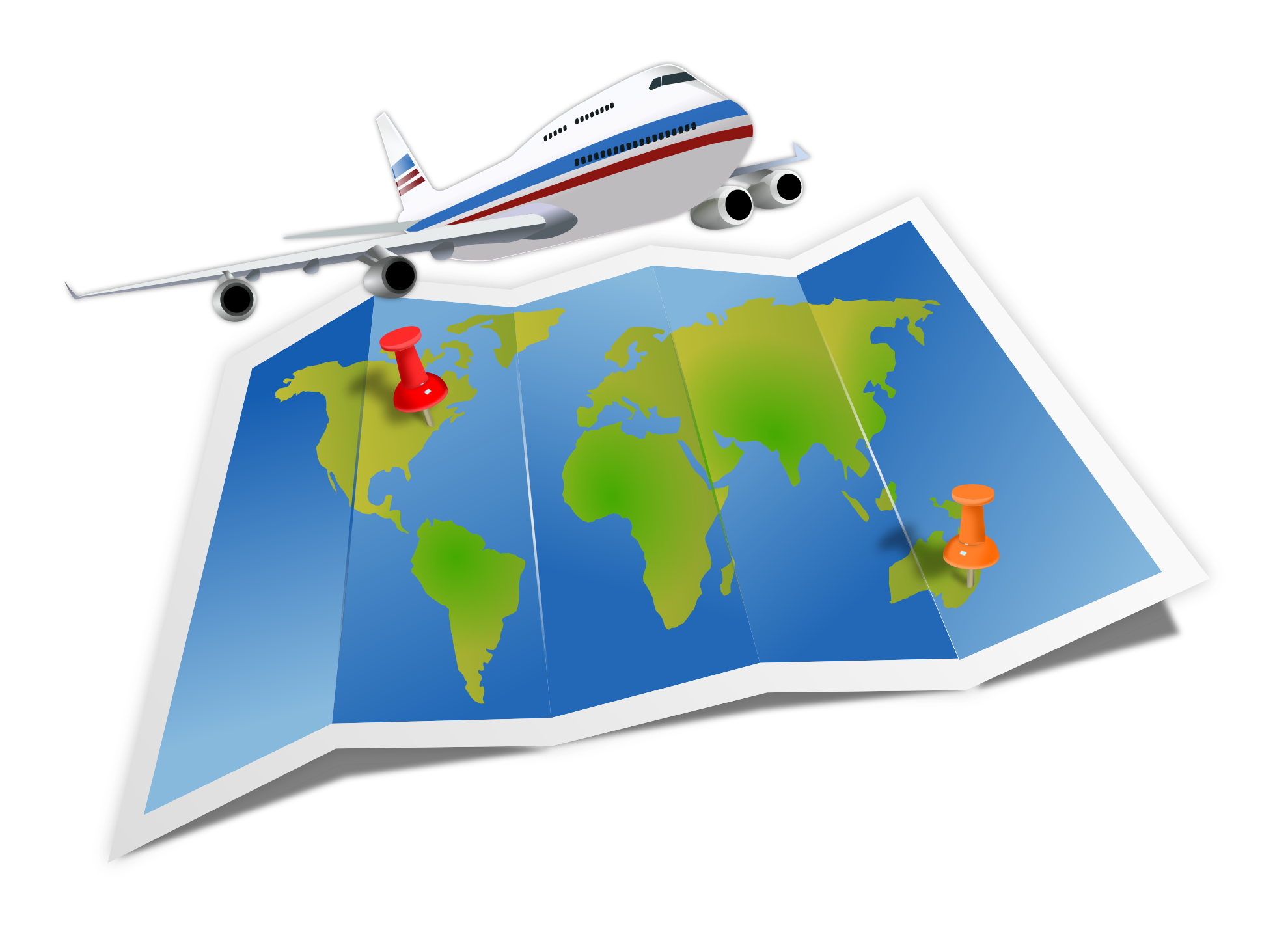Step by guide to. Clipart plane tourist