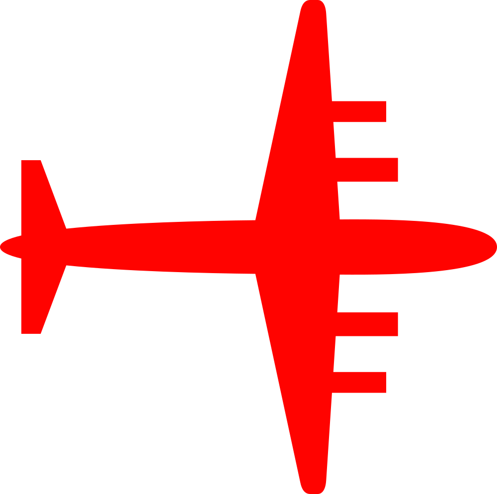 Silhouette plane at getdrawings. Clipart airplane flag