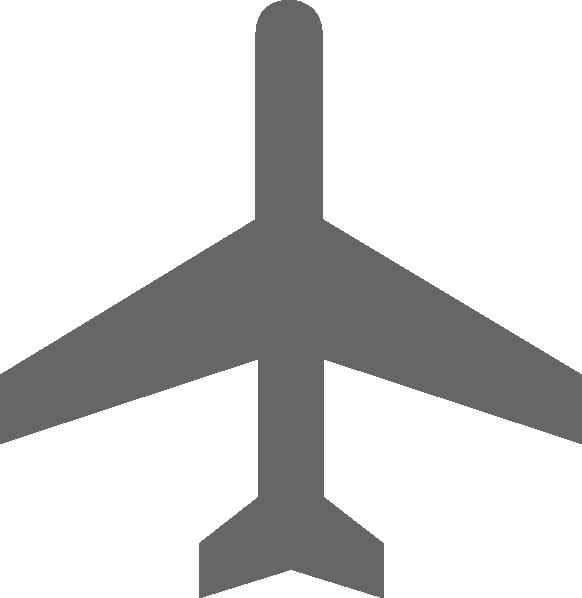 Dot clipart airplane. Plane grey clip art