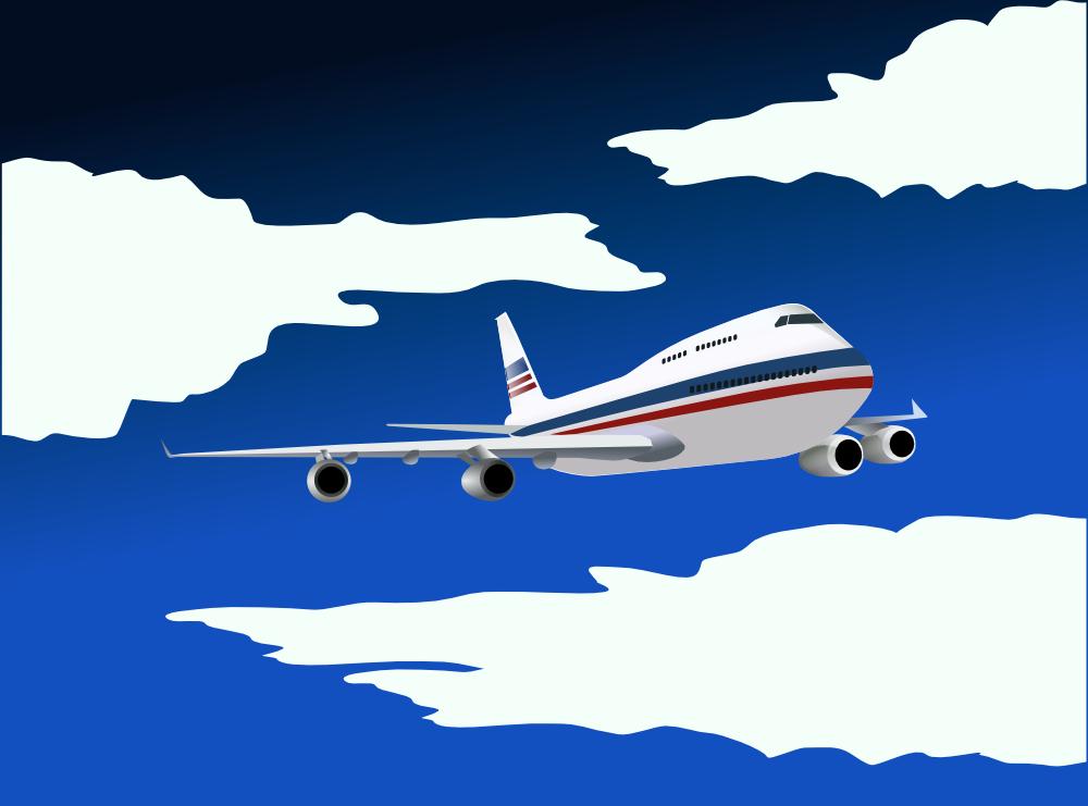 Clipart plane stencil. Airplane travel template datariouruguay