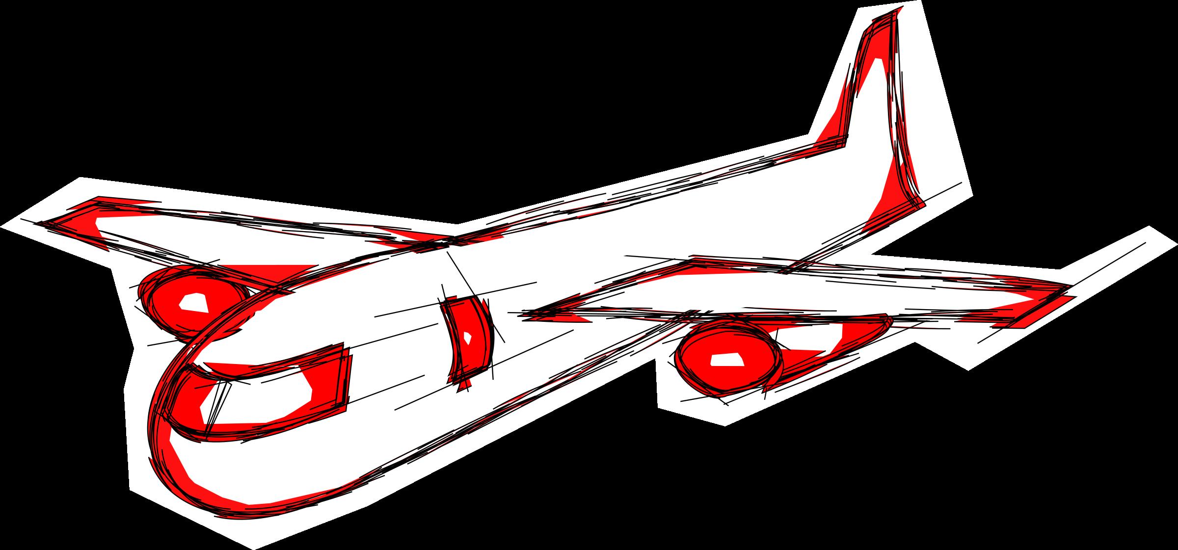 Clipart plane jetliner. Jumbo jet at getdrawings