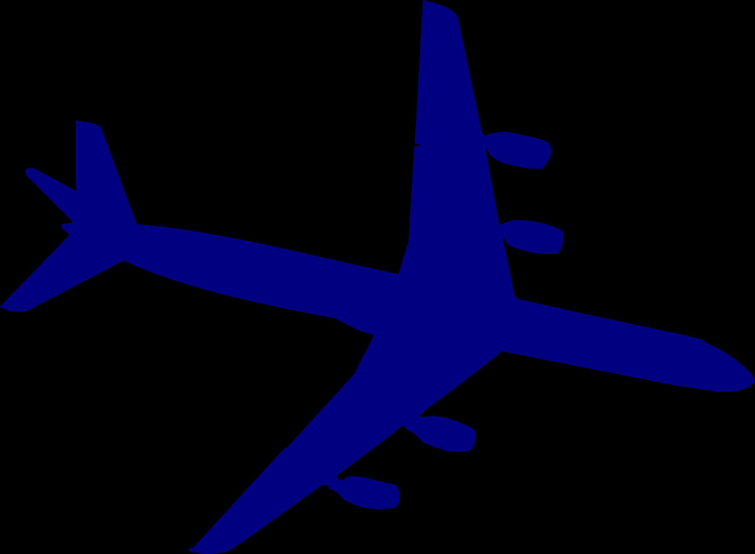 Douglas dc silhouette big. Purple clipart airplane