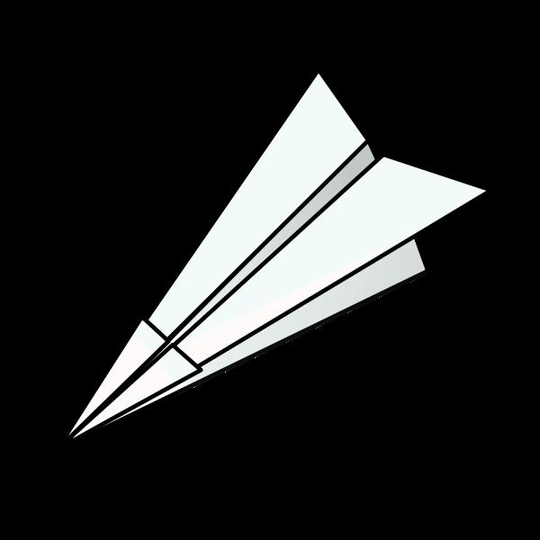 Clipart plane airplane. Black paper panda free