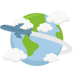 Free cliparts travel download. Clipart world airplane