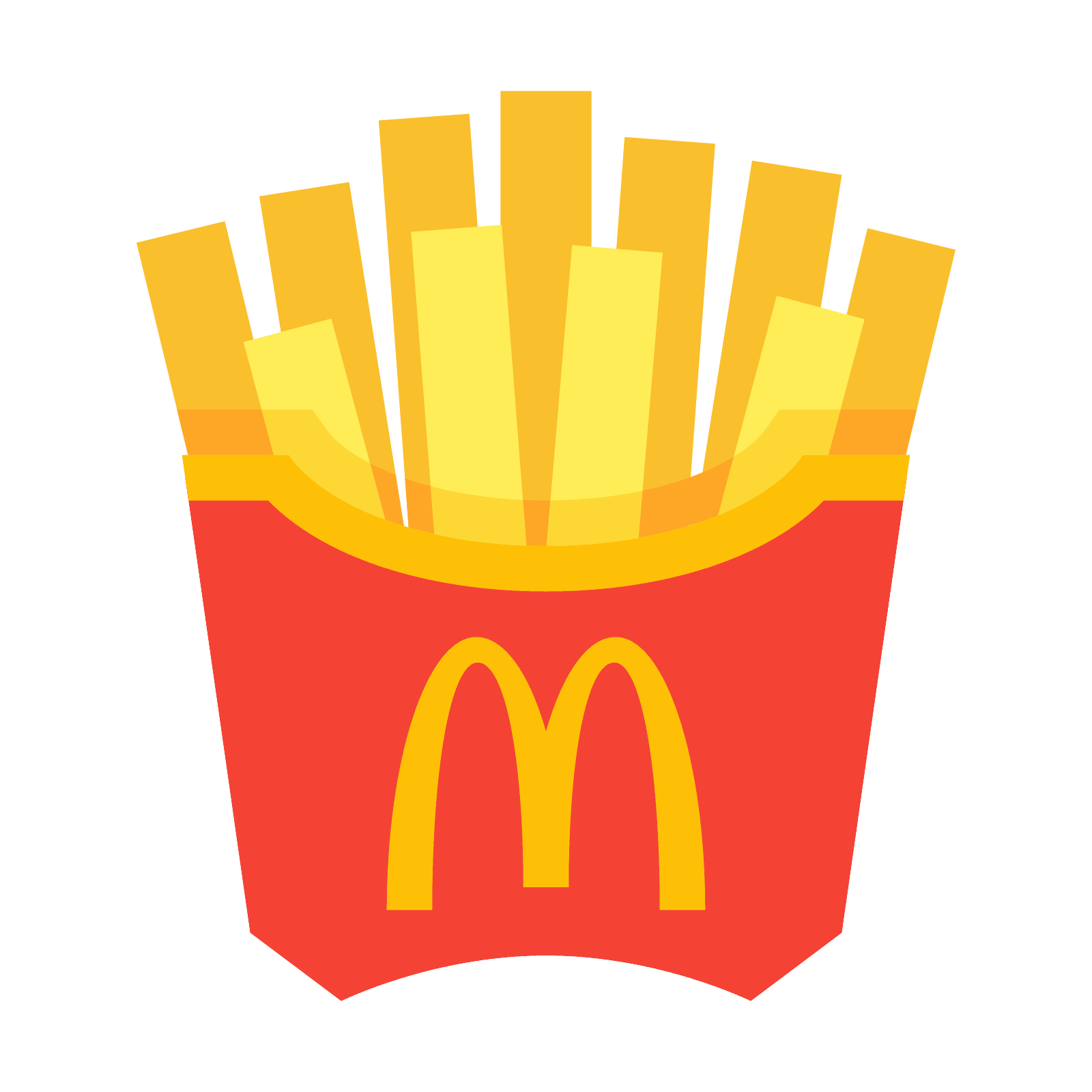 Emoji clipart fry. Mcdonald s french fries