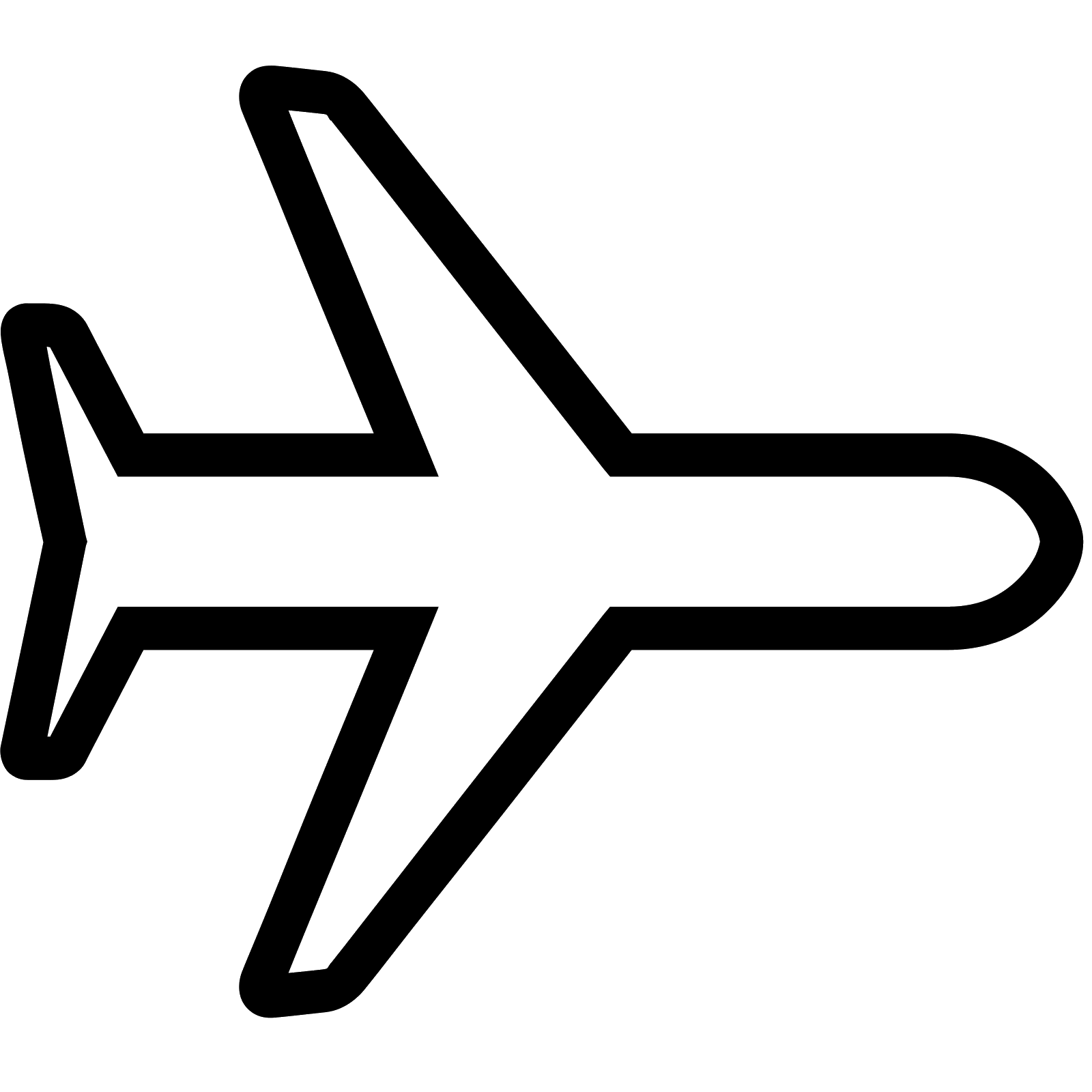 Emoji clipart plane. Airplane mode on icon