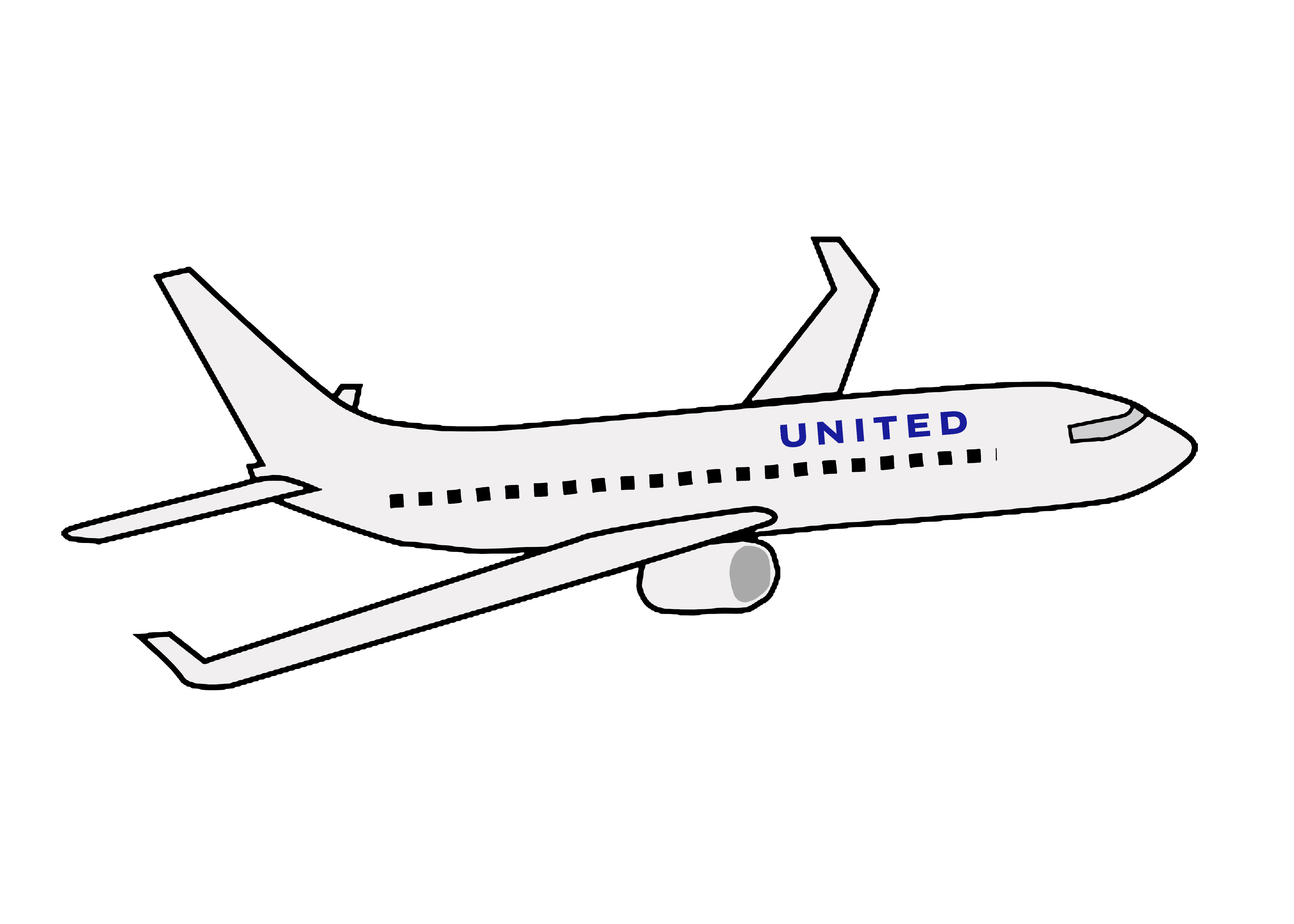 Passenger on the plane - Download Free Vectors, Clipart Graphics & Vector  Art