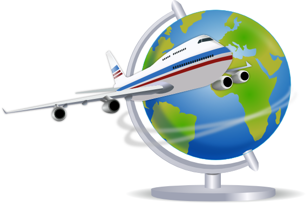 Free cliparts airplane travel. Clipart plane flight