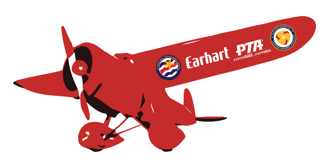 Earhart school go green. Donation clipart pta