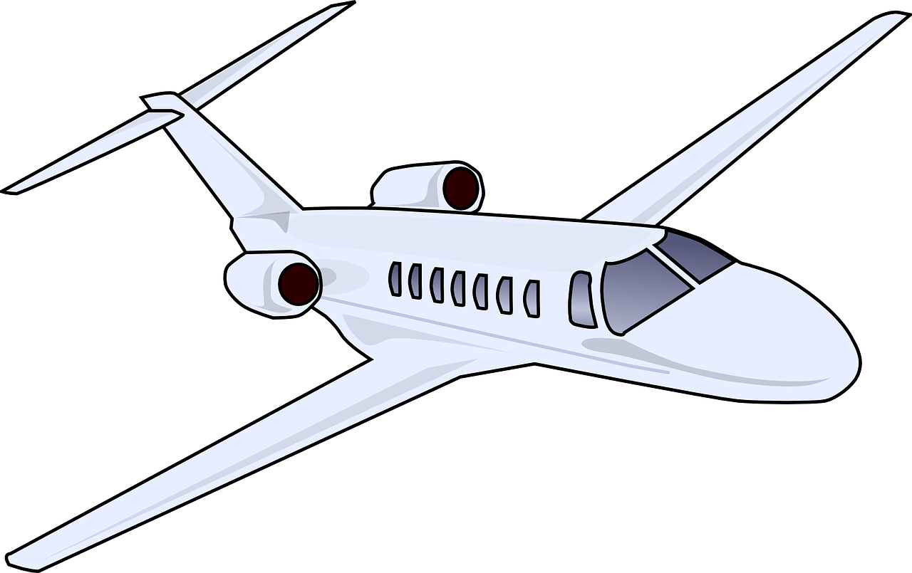 Jet clipart commercial airplane.  pollution huge freebie