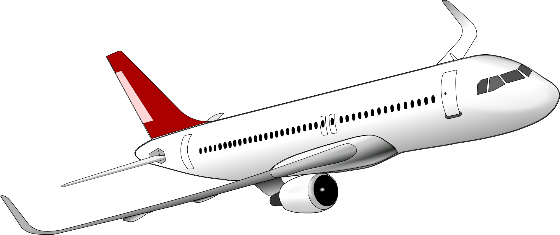 Jet clipart commercial airplane. Jokingart com download free