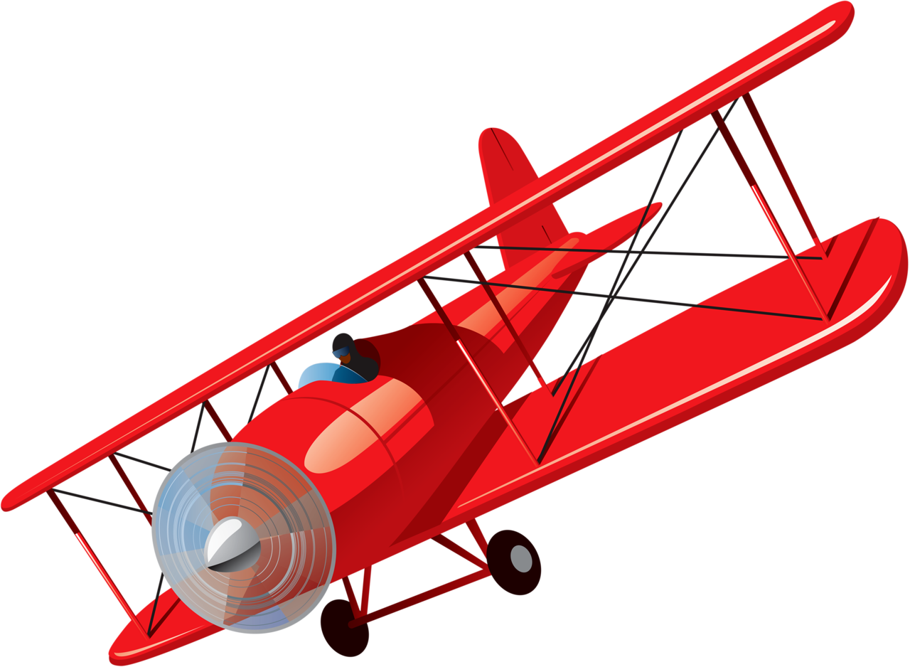 Pilot clipart antique airplane. Content png clip art