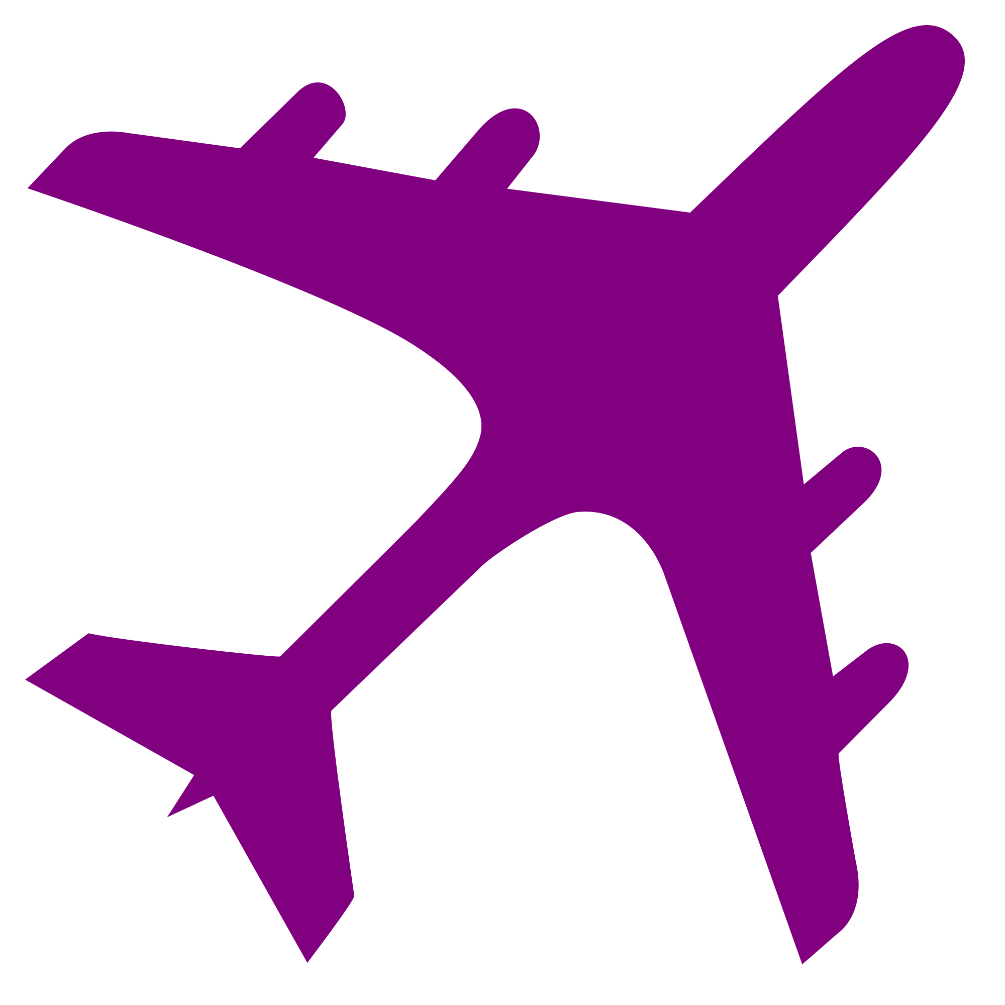 Purple clipart medal. File airplane silhouette svg