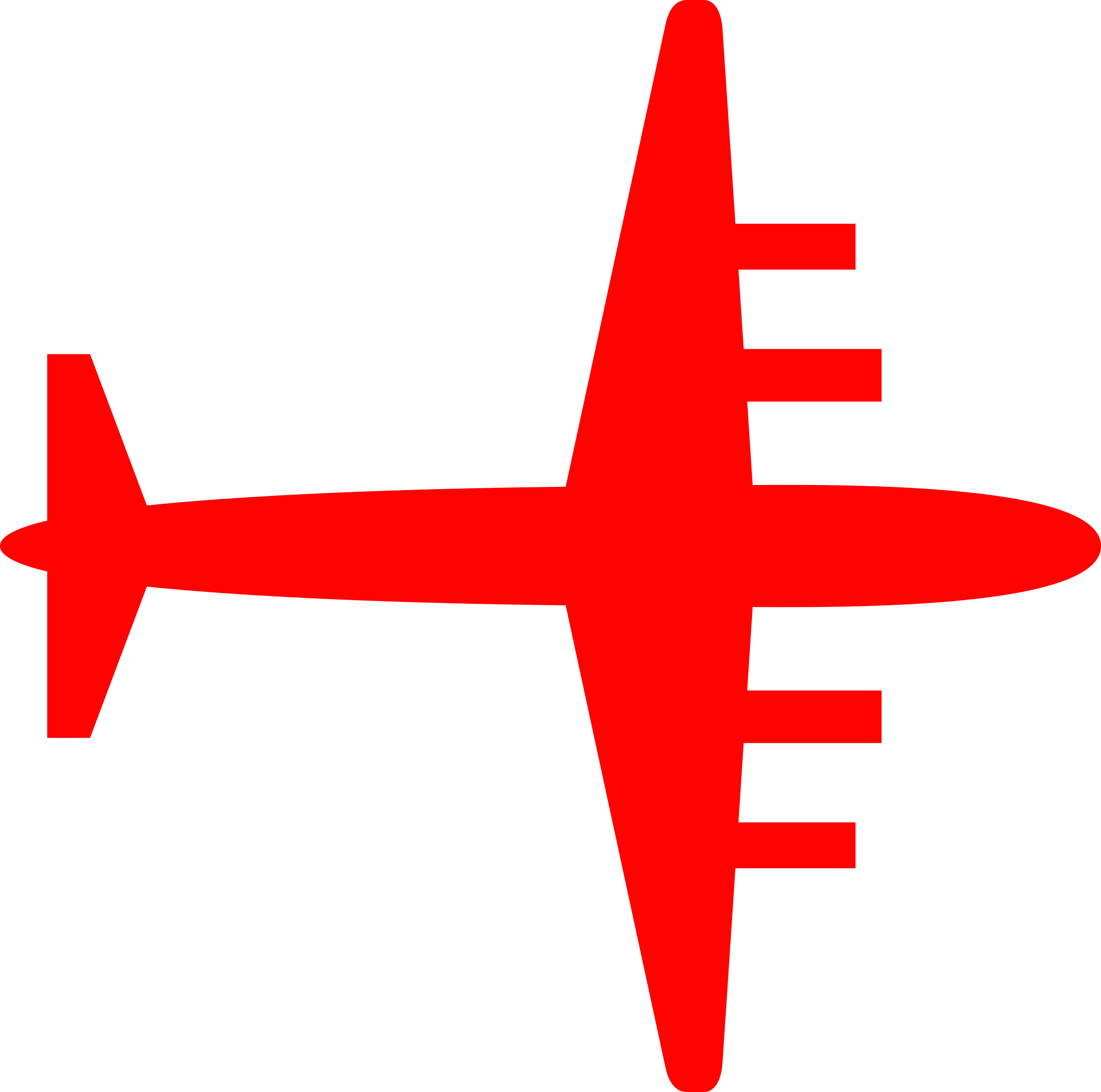 Silhouette big image png. Clipart plane red