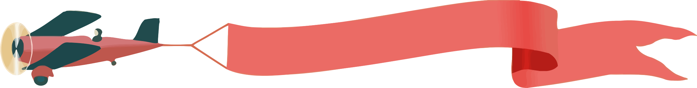 Clipart plane banner. With big image png